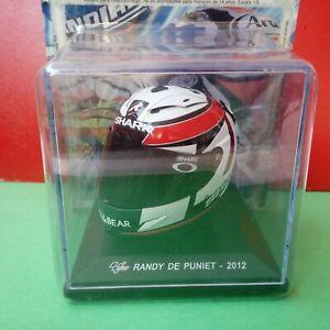 Helmet Casco Moto GP Randy de Puniet 2012 Scala 1/5 Nolan DeAgostini Nuovo