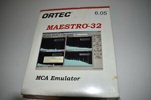 ORTEC MAESTRO-32 MCA EMULATOR A65-B32 SOFTWARE & MANUALS - NEW (LQ15)