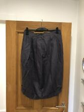 Women's Cora Kemperman Grey Lilac Linen Tulip Skirt Size XL
