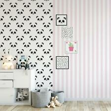 Vliestapete Streifen Rosa Weiß Schmal Fabulous World Tapete 67103-4/ EUR 3,56/qm