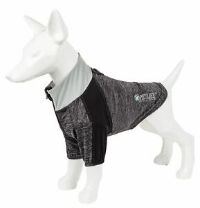 Pet Life 'Chewit-Wagassy' Quick-Dry and 4-Way Stretch Long Sleeve Dog T-Shirt