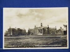 Kings College, Halifax, Nova Scotia Canada 115029JV. 1935 RPPC Used B&W PC10