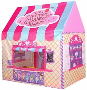 Kids Pink Princess Castle Play House Large Indoor/Outdoor Tents For Baby Girls