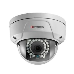 HiWatch By Hikvision 4MP IP POE Vandal Dome Camera with 30M IR 2.8mm Lens