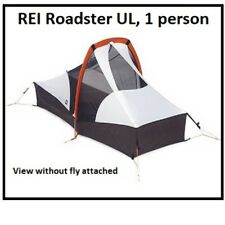 REI Roadster UL 1-person backpacking tent, camping, lightweight, NEW