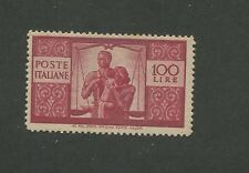 1946 Italy United Family of Scales 100l Postage Stamps #477