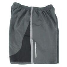 TEK Gear Gray Quick Dry Polyester Running Shorts Men's Size L
