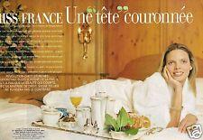 Coupure de Presse Clipping 2002 (8 pages) Sylvie Tellier Miss France