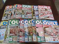 29 Issues Large Huge Vintage Lot QUILT Magazines 1987-1993 Excellent