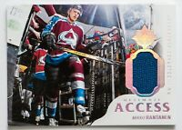 MIKKO RANTANEN GAME USED JERSEY CARD UD ULTIMATE COLLECTION ULTIMATE ACCESS MINT
