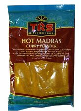 Madras Curry Powder - Hot - 3 x 100g Bags - TRS Brand