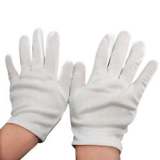 1 Pair Micro Elastic Nylon White Parade Dress Gloves Working Glove