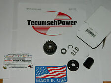 GENUINE Tecumseh starter gear kit 37052A Fits Snowblowers Ariens & others