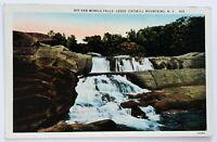 Postcard Leeds Catskill Mountains NY Rip Van Winkle Falls Waterfall 1920's 30's