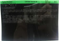 Honda CRF250X 2004 - 2006 Parts List Microfiche h240