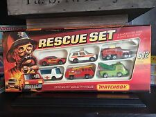 matchbox Rares Gift Set Superfast G-12 OVP excellent from 1975