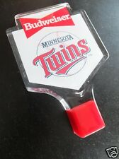 "*Rare* ""Minnesota Twins"" Beer Tap Knob/Handle! #2 Budweiser-Baseball-Never Used"