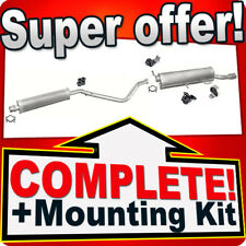 peugeot 307 complete exhaust systems | ebay
