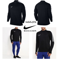 SZ MEDIUM ⚽️🆕🔥 Nike Drill Top Squad 1/4 Zip Long Sleeve Men's Training Soccer