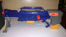 NERF DART BLASTER TAG GUN RIFLE N STRIKE LONGSHOT CS-6 WITH STAND & 2 CARTRIDGE