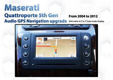 "Maserati Quattroporte QP5 - 6.5"" / 7"" Touch GPS Nav Rear Cam Retrofit service"