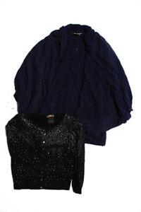 La Rok Saturday Sunday Womens Sweater Jacket Size Small Extra Small Lot 2