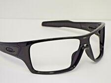 Authentic Oakley OO9307-06 Turbine Rotor Polished Black Sunglasses Frame $250**