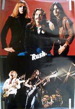 RARE RUSH 1980 VINTAGE ORIGINAL MUSIC POSTER