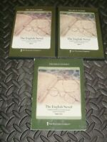 Great Courses Teaching Company THE ENGLISH NOVEL Literature DVD Guidebook SET