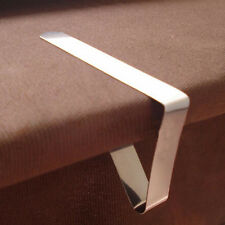 4 Edelstahl Tischdecke Abdeckung Klammern-Inhaber Tuch Clamp Picknick Werkzeug