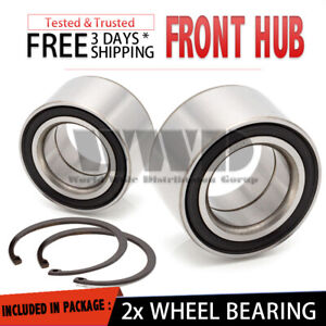 2x 510024 Front Replacement Wheel Hub Bearing Left + Right 1991-2002 Saturn SL2