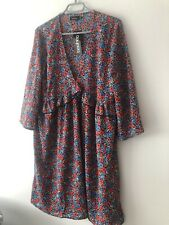 Floral Maternity Dress Size 14 Brand New