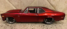 Maisto Pro Rodz 1:24 1970 Chevrolet Nova SS Coupe Candy Apple Red