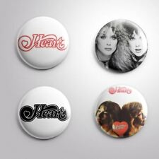 "4 HEART - Pinbacks Badges Buttons 1"" 25mm"