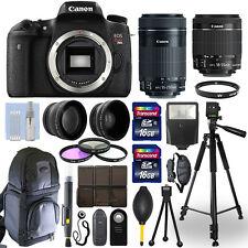 Canon T6s / 760D DSLR Camera + 18-55mm STM + 55-250mm STM 4 Lens 32GB Valued Kit