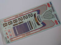 New Genuine Tamiya 'Boomerang 2008' Decals/Stickers 9495567