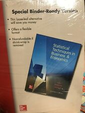 Statistical Techniques in Business and Economics by William Marchal, Samuel...