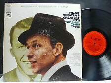 FRANK SINATRA 'S Greatest hits The early years Volume two CS9372 STEREO
