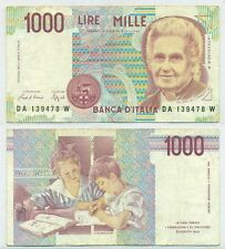 ITALY NOTE 1000 LIRE 1990 P 114a