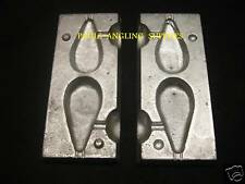 SEA FISHING 2 IN 1 PEAR  LEAD WEIGHT MOULD TFT SIZE 2  3oz + 4oz