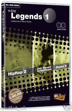 eJay Legenden 1 Sammler Hero Packung Hip Hop Musik Software für PC (DVD-ROM) NEU