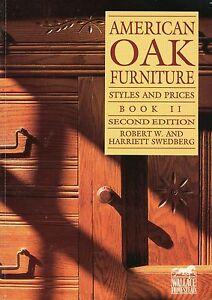 American Oak Furniture – Desks Beds Dressers Childrens Furniture / Book + Values