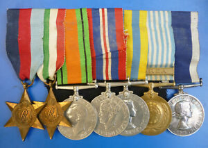 A SECOND WORLD WAR AND KOREA ROYAL NAVY MEDAL GROUP