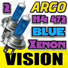 H4 XENON ICE BLUE 55W 472 HEADLIGHT BULBS YAMAHA SR 125 (10F)