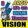 2x Azul Xenón Halógeno Bombilla Para Faro H4 hb472 P43t 12v 60/55w