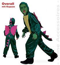 Fasching Karneval Dino Overall Dinosaurier Kostüm Gr.98