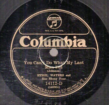 9g5.  Ethel Waters - What My Last Man Did & Maybe Not At All - Columbia 14112-D