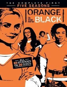 Orange Is the New Black: The Complete First Five Seasons [New DVD] Boxed Set,