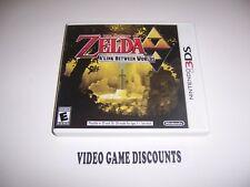 Original Box Case for Nintendo 3DS Legend of Zelda A Link Between Worlds