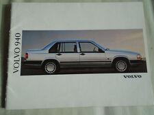 Volvo 940 range brochure 1992 German text